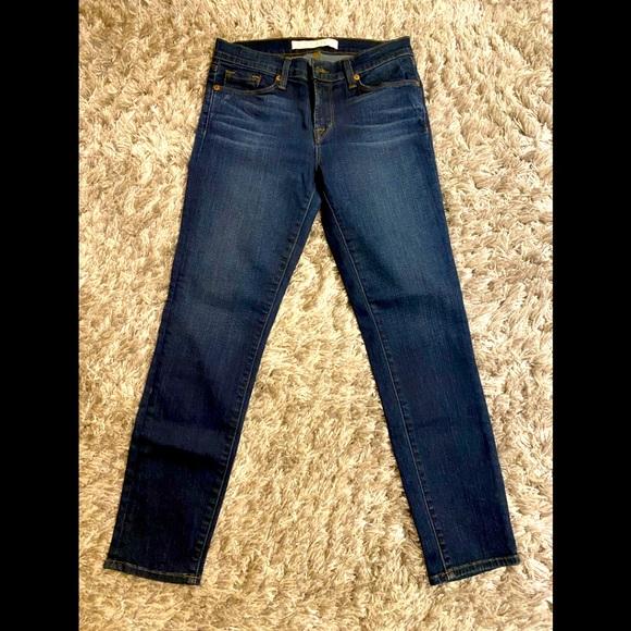 J Brand dark vintage blue jeans